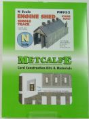 Metcalfe PN932 Stone built engine shed - half price!